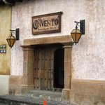 Entrance to the El Convento and the Stiz restaurant