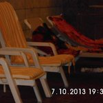 defekte Sitzkissen