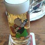 particolare bicchiere