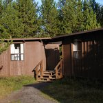 Exterior of the so-called cabin