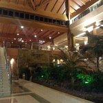 lobby near restaurant