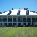 View of the front of the plantation