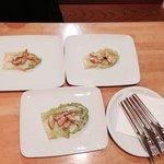 Antipasto della casa: Cesar salad