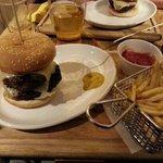 Carribean Hot 12oz burger. ..nice !!