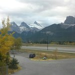 View from our room of the Three Sisters