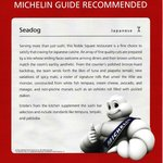 Seadog Michelin guide recommended