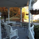 Glynn House porch - Ashland NH