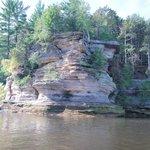 Wisconsin Dells Sandstone Formation