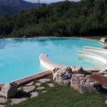 piscina purtroppo non utilizzata causa maltempo