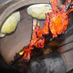 Tandoori Chops with garlic Naan