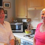 Helen's kitchen is the heart of the home. She is there to help make your stay a joy.