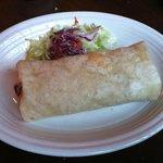 Mexico City Chicken Burrito