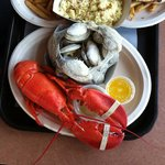 Clambake with Lobster and Clam Chowder