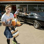 Roller Girl Service @ Phat Burgers North