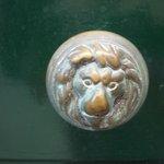 This is one of the door knobs on the front door