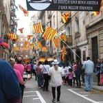 Parade in Barcelonetta