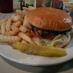 The best burger around, hands down.
