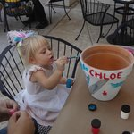 Flower pot painting special at the Melting pot