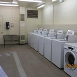 Very clean well maintained laundromat