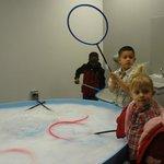 Bubble area