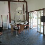 Kitchen in villa - came with butler and chef