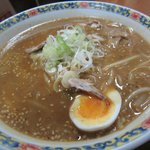 Ramen - cooked by an old lady. Delicious broth