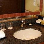 bathroom with complimentary toiletries