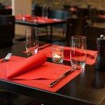 Tisch in der ToroToro Tapas Bar