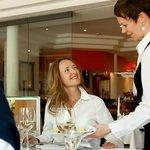 """Im Restaurant """"Strandauster"""""""