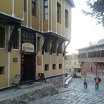 old plovdiv and street
