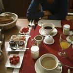 breakfast - delicious!