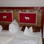 Tolles gemütliches Bett