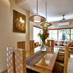 Villa Seriska Dua, Seminyak Dining room
