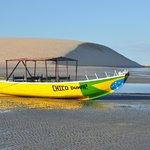 Plage et la dune de Jéricoacoara le matin (07/2013)