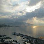 Alba di Napoli vista hotel