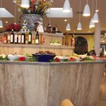 one of the buffet bars.