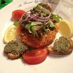 tartare de saumon excellent