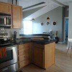 one corner of the kitchen- superb!
