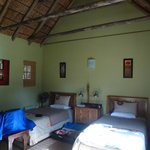 Slaapkamer in de bungalows