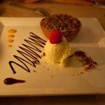 The dessert (apple pie) was excellent!
