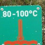 Ground temperature in Celsius