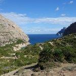 Boquer valley near the sea.