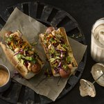 banh mi-style hot dog