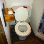 Tiny toilet !