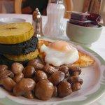 早餐:豬血蘋果塔
