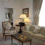 Een van de vele kamers van de RoyalSuite