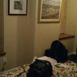 Visão ampla do quarto
