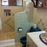 Mexikanisches Badezimmer