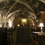Ancient wine cellar restaurant/lobby