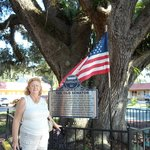Nancy And The Old Senitor 600 year old Oak